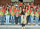 College students get felicitated on their success