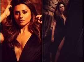 Ridhi oozes hotness in this black gown