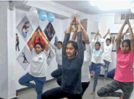 Dance and fitness took to Aurangabad youngsters