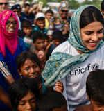 When Priyanka Chopra met children at refugee camps in Bangladesh, see pictures