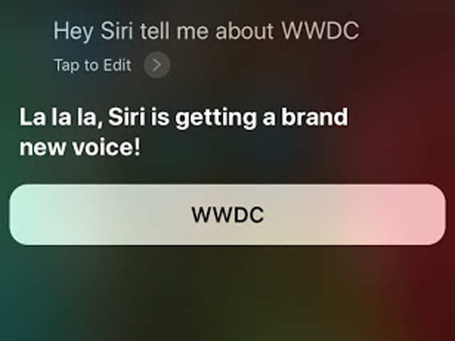 Siri could get smarter and might just get a new voice at Apple's WWDC 2018