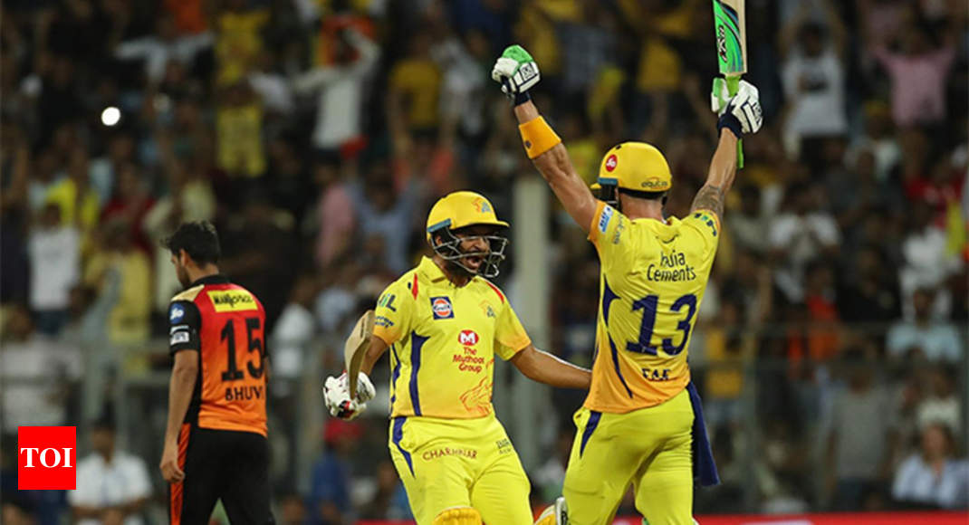 photo - SRH vs CSK: Faf du Plessis steers Chennai Sizable Kings into seventh IPL closing - Events of India