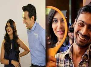 Gujarati film celebrities and their candid filming moments