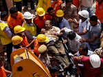 Jodhpur: Three-storey building collapses, several feared trapped