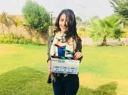 Heena Achhra starts shooting for 'Suryaansh'