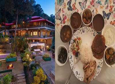 This English retreat in Kasauli serves the best of local food