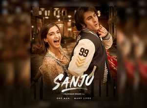 Sanju poster: Ranbir-Sonam recreate chemistry