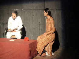 Short plays, Kamzor and Khuda Hafiz, staged at Ravindra Manch in Jaipur