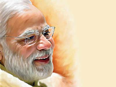 Narendra Modi: Mega Times Group poll: 71 9% of Indians say