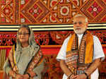 Narendra Modi, Sheikh Hasina attend Visva-Bharati University's convocation ceremony