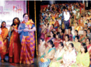 Dance and music kept the ladies of Kolhapur entertained