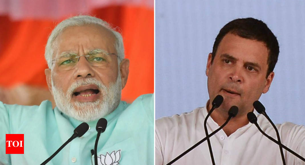 'Modi hatao brigade' vs 'Betrayal Janata Party': Brickbats fly on NDA's 4-year anniversary
