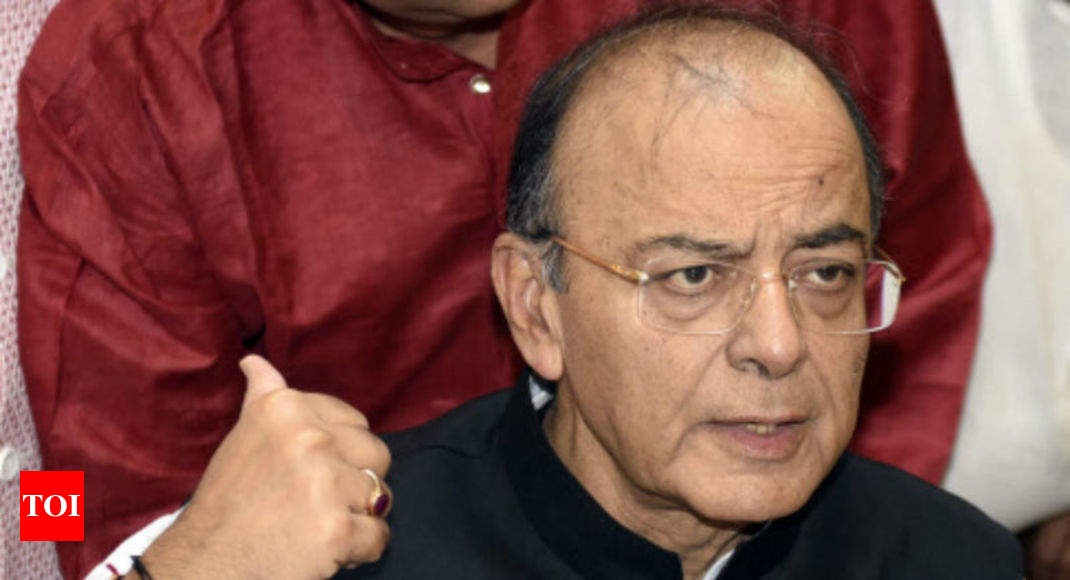 2019 election will be Modi vs anarchist opposition front: Arun Jaitley - Times of India