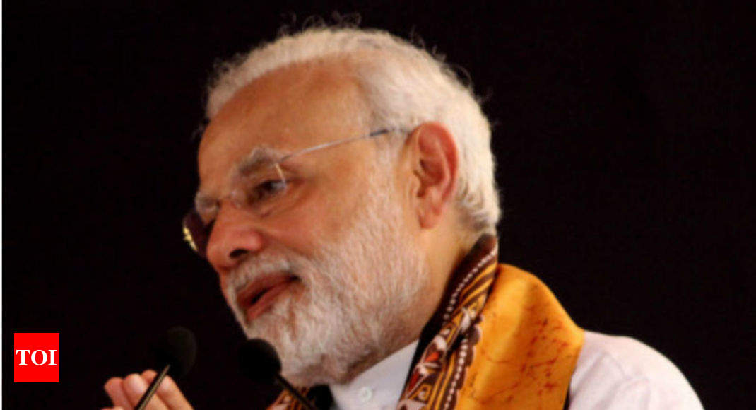 72% favour Modi if Lok Sabha polls held today - Times of India