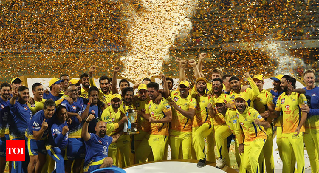 CSK vs SRH Final: Shane Watson century powers Chennai Super Kings to third IPL title - Times of India