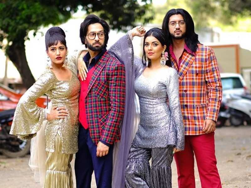 Nakuul Mehta and Surbhi Chandna's retro look hints at major twists in Ishqbaaaz