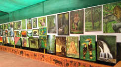 Kochi's budding artists highlight the beauty of nature