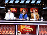 Judges Siddharth Anand, Farah Khan and Marzi Pestonji