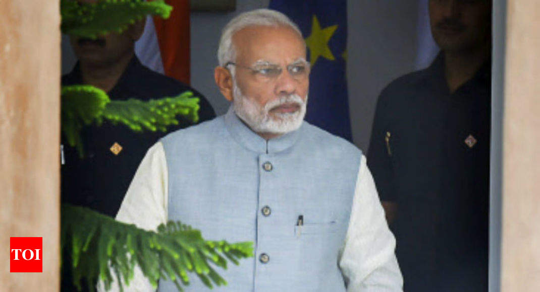 photo - PM Modi refused to signal MoU on unlawful Indians as UK didn't ease visas - Times of India