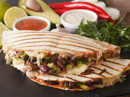 Baked Bean Quesadillas
