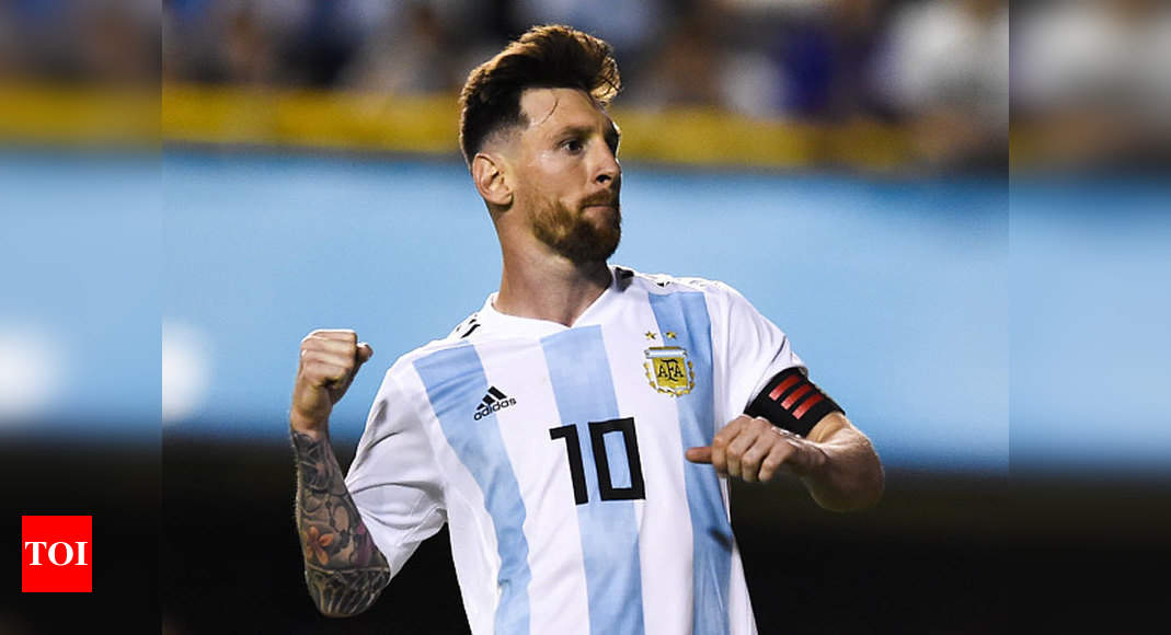View Messi Beard Argentina Pictures