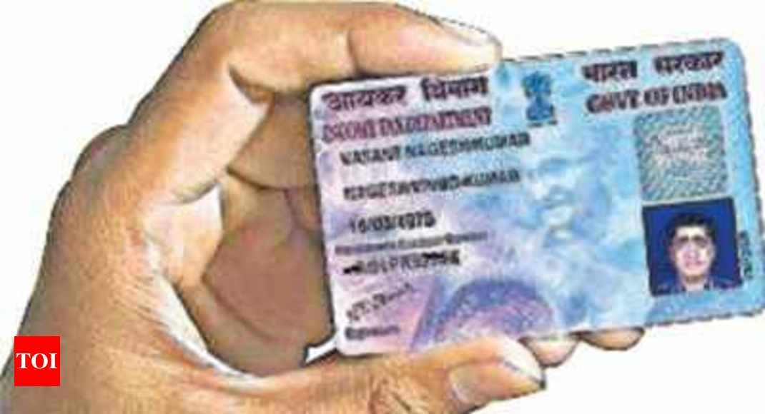 What are documents required for PAN card application? - Times of India
