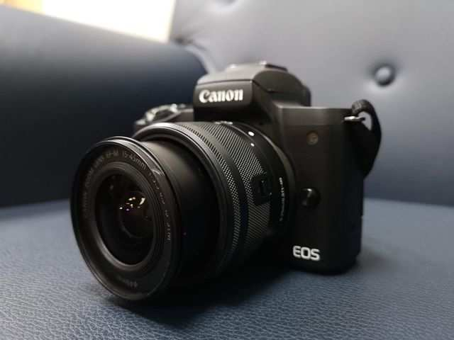 Canon EOS M50 (EF-M 15-45mm f/3 5-f/6 3 IS STM Kit Lens) Mirrorless Camera