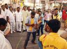 Ahilyadevi Jayanti celebrated amidst dhol-tasha echoes
