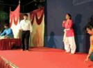 Youngsters perform on Khandakavya in Aurangabad
