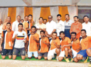 Footballers put up a nail-biting match in Kolhapur