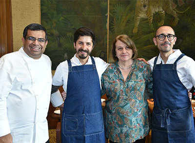 Master Chef Alejandro Gutierrez creates magic with Columbian delicacies