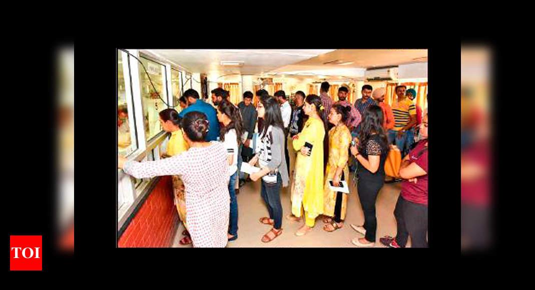 Panjab University Admission Process Leaves Students Stumped Chandigarh News Times Of India