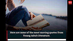 Beautiful lines from Young Adult literature