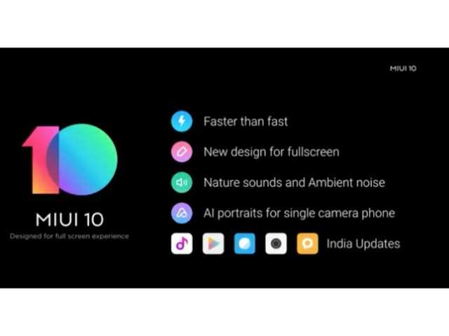 Image result for Xiaomi rolls out MIUI 10 in India: Here's what's new