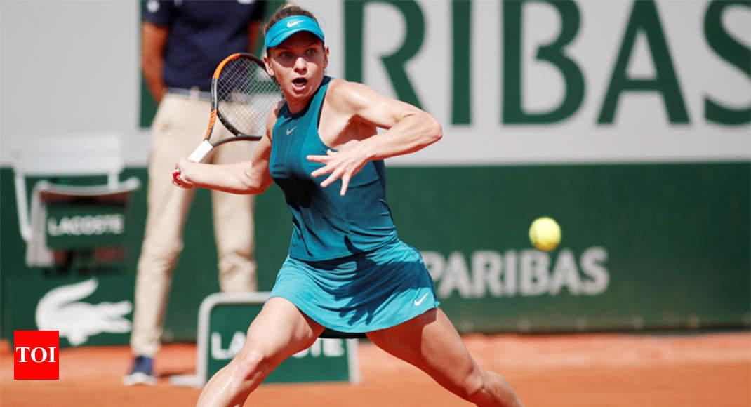 Simona Halep Looking To Break Major Duck Tennis News Times Of India