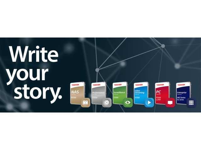 Toshiba introduces new series of internal hard drives