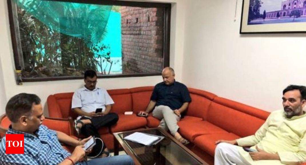 IAS Officers' Strike: Kejriwal, Ministers Hold Sit-in At