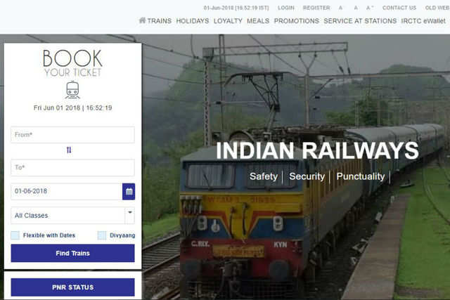 Government wants to tap railway portal IRCTC's database