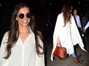 Style crush: Deepika's cape shirt