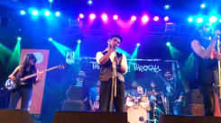 Band String Theory performs during RG Kar Medical College's fest, Lobelia