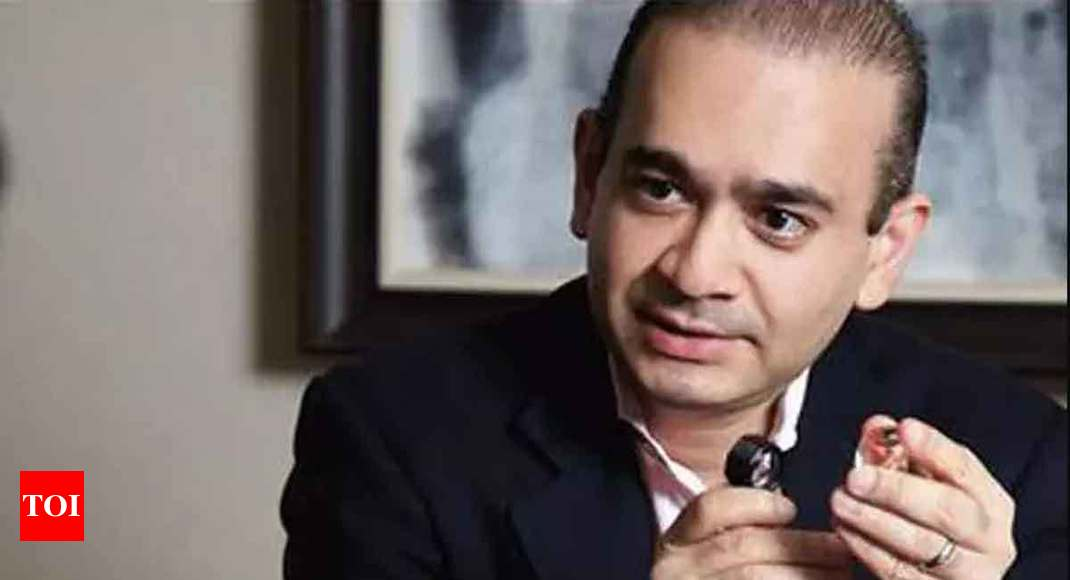 'Nirav Modi flees to Brussels, believed to be travelling on Singapore passport' - Times of India