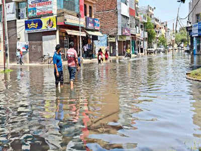 Stink, sewage flow from Panchkula to Dhakoli | Chandigarh