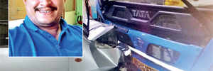 Without a scratch on him, man dies three hours after collision with bus