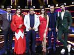 Anil Kapoor, Jacqueline Fernandez, Salman Khan, Daisy Shah, Bobby Deol and Saqib Saleem