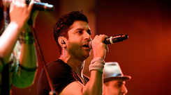 Farhan Akhtar performs at RG Kar Medical College