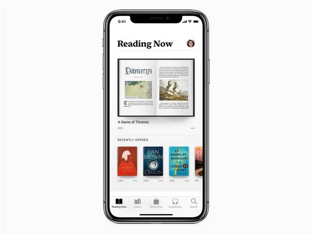 Apple details its Apple Books app that will come with iOS 12 later this year