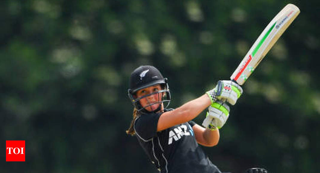 17-year-old Amelia Kerr blasts 232* to record highest individual score in women's ODIs - Times of India