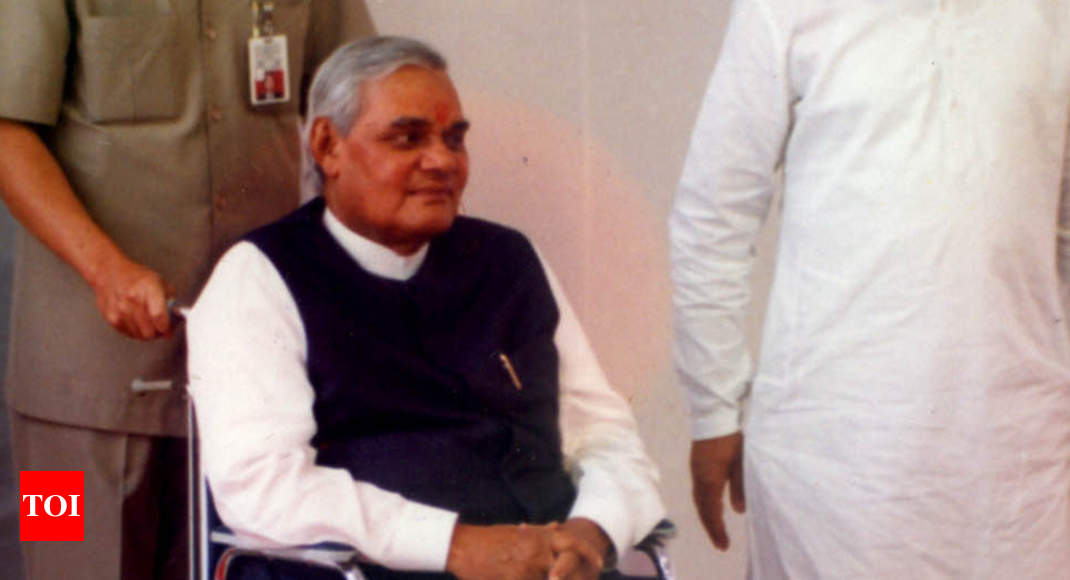 photo - Row rages over poster on Atal Bihari Vajpayee - Cases of India