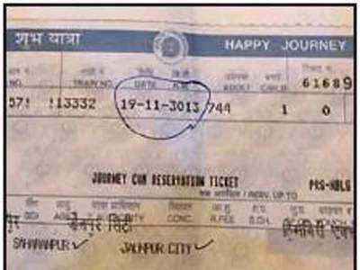 indian railways: Railways fined for evicting man for '3013