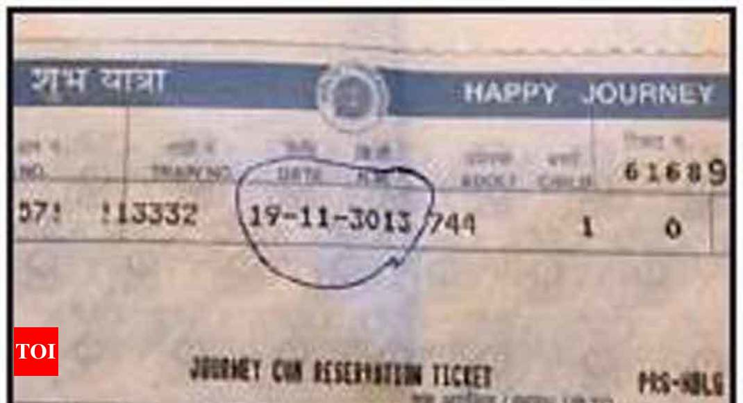 photo - Railways fined for evicting man for '3013' designate - Cases of India